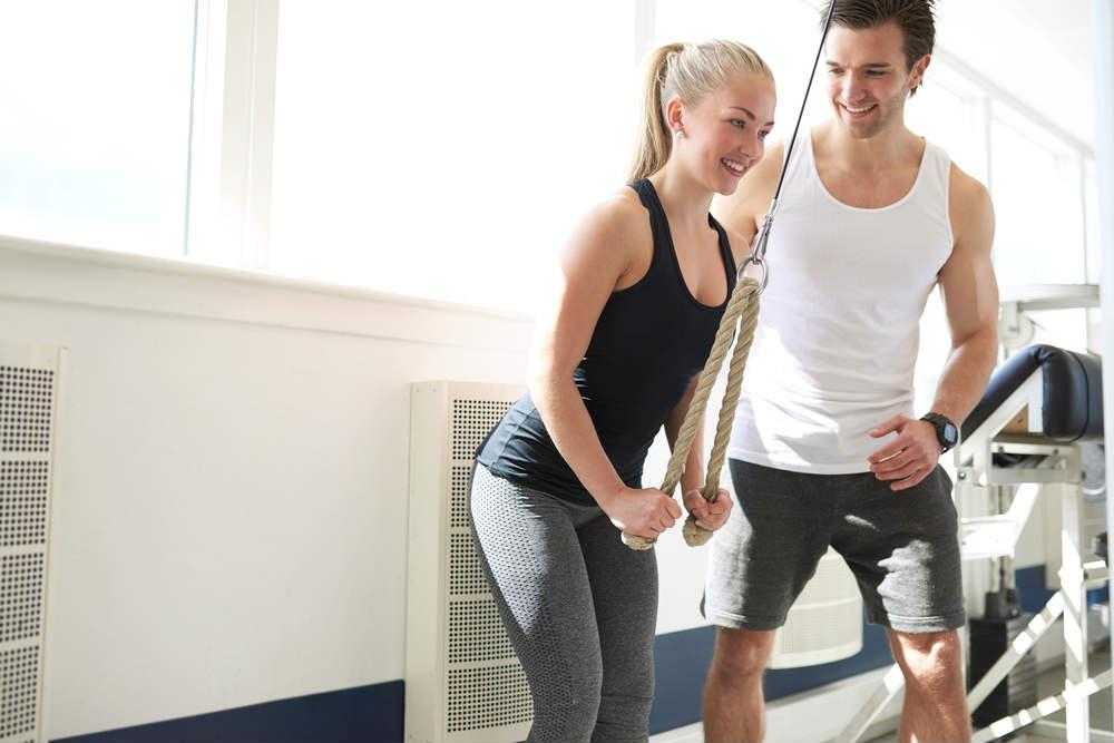 Una rutina adecuada para ganar masa muscular