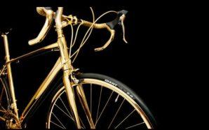La bicicleta más lujosa de mundo, ¡está fabricada en oro!