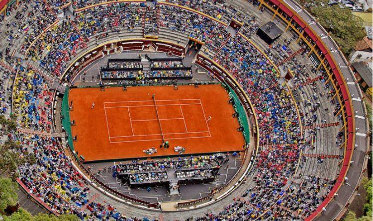 Copa Davis, disfrútala desde la barrera de la plaza de toros