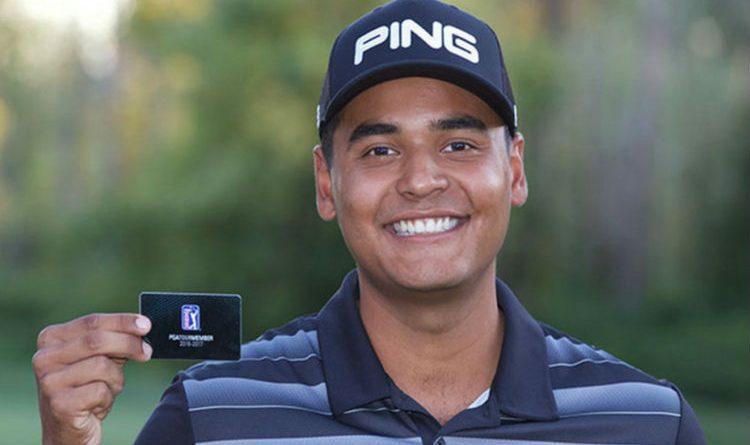 Sebastián Muñoz es actualmente el mejor colombiano en el ranking de la PGA