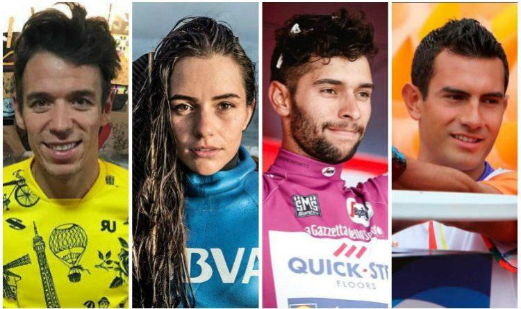 Los 4 colombianos nominados a mejor deportista del año en Latinoamérica