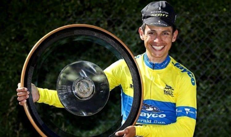 Esteban Chaves volvió a sonreír. ¡Campeón en Australia!
