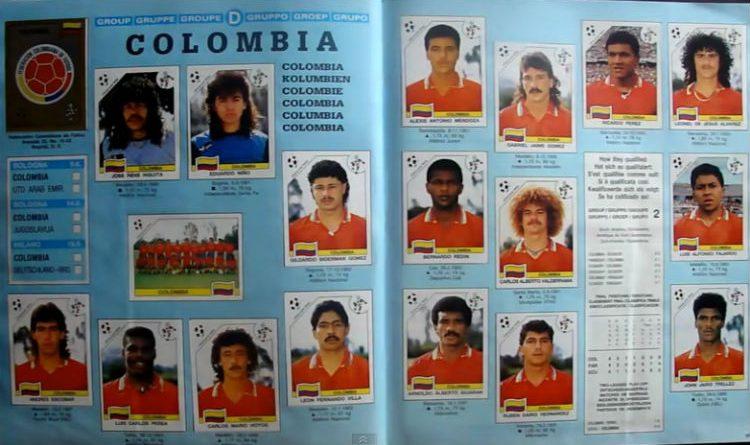 El colombiano que sin ir a un mundial aparece en el álbum de Panini