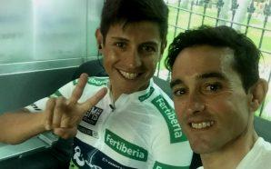 Óscar Sevilla recuperó su bicicleta y envió este mensaje