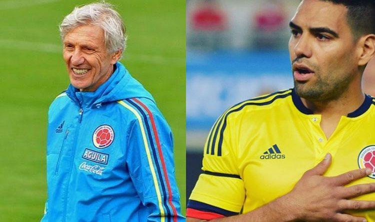 En entrevista con 'Fox Sports' el atacante colombiano no escatimó en alagar la presencia del técnico argentino en la selección Colombia.