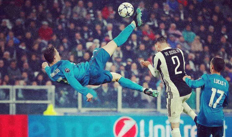 El mundo se rindió ante la chilena de Cristiano Ronaldo. ¡Fenómeno!