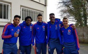 La reunión de varios jugadores colombianos en España ¡Más que…