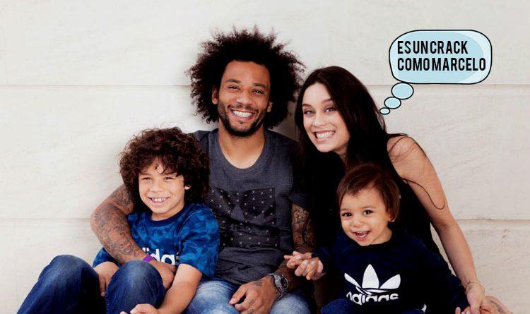 El hijo de Marcelo demostró sus habilidades en el vestuario del Real Madrid 2