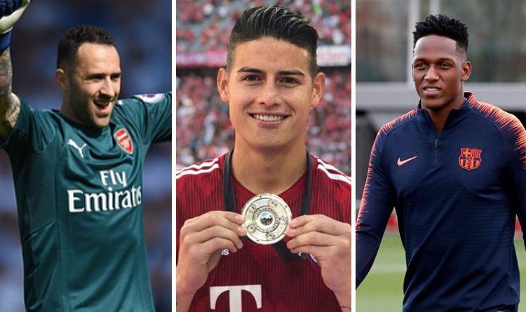 Así les fue a los jugadores colombianos en el fútbol europeo