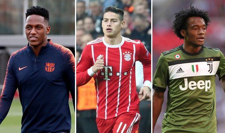 Jugador colombiano cambiaría de equipo en Europa ¡No lo creerás!