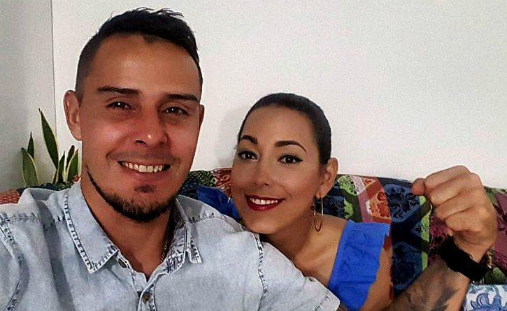 Falleció Tatiana García, la esposa del portero Luis Delgado 1
