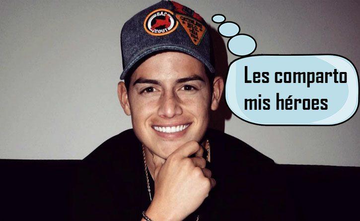 James conmovió a sus seguidores con el video de su visita a los niños enfermos de cáncer en Bogotá 1