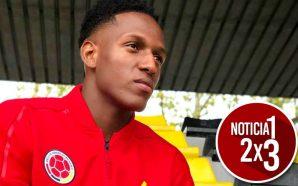 Yerry Mina podría ser titular en el primer partido de la Selección Colombia 1