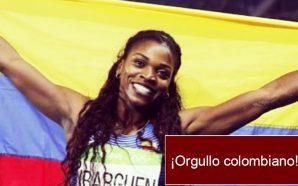 Caterine Ibargüen quedó campeona en una valida de la Liga…