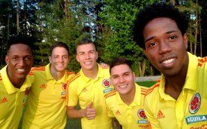 Así reaccionaron los jugadores de la Selección Colombia tras conseguir su clasificación