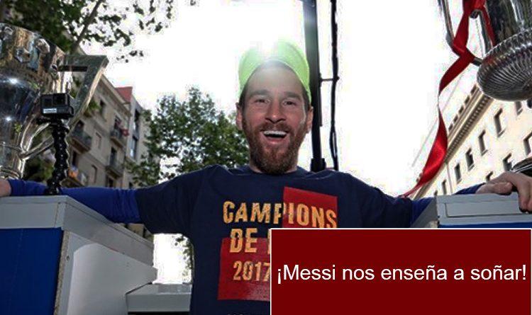 Así fue la historia deportiva de Lionel Messi. ¡No la tuvo nada fácil!