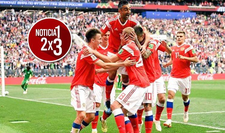 Goleada histórica: Rusia derrotó 5-0 a Arabia en el inicio del Mundial