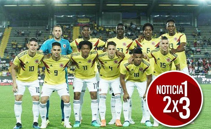 Esta es la nómina titular de Colombia para enfrentar a Polonia en el Mundial