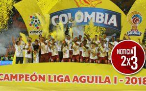Deportes Tolima se consagró campeón de la Liga Águila. ¡Muchas felicitaciones!