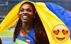 Caterine Ibargüen llenó de orgullo a Colombia con su victoria en una válida de la Liga de Diamante