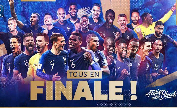 Francia llega nuevamente a una final del Mundial
