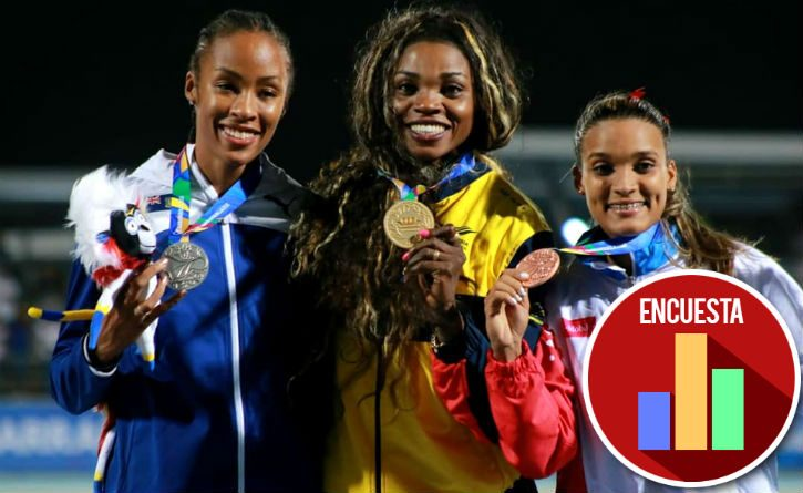 Caterine Ibargüen gana oro en los Centroamericanos y cumple sueño de su gran amiga 2