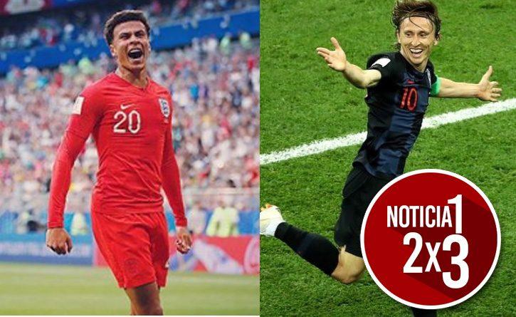 Inglaterra y Croacia disputarán la segunda semifinal del Mundial de Rusia