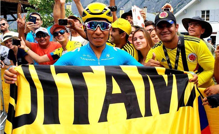 Nairo gana la etapa reina del Tour y le da clases en la montaña a Froome y Dumoulin ¡Una alegría más para Colombia!