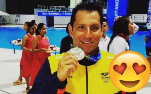 Omar Pinzón, el medallista de oro colombiano que conmovió con su dedicatoria
