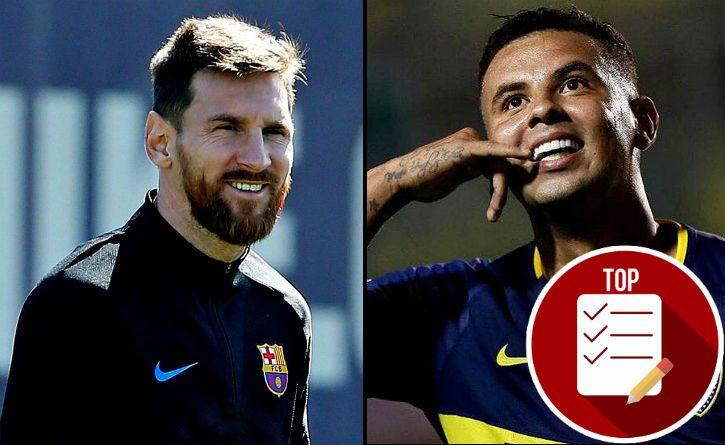 Elll noble gesto de Lionel Messi con Edwin Cardona y su equipo el Boca Juniors