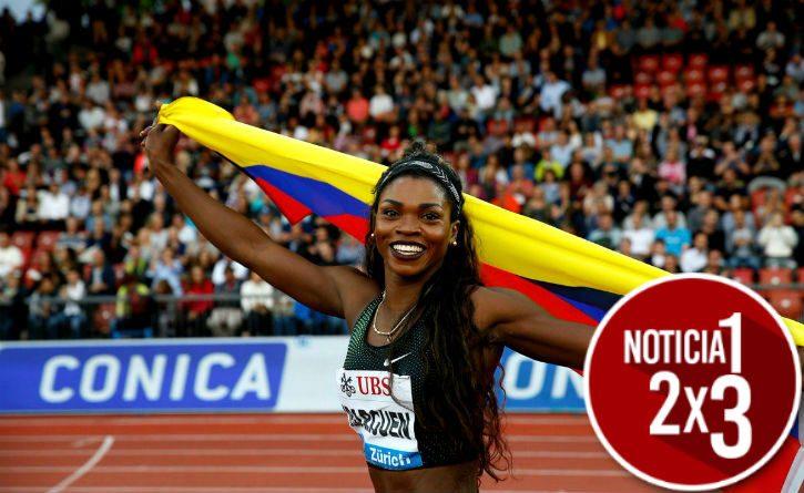 Caterine Ibargüen se convirtió en 'Bicampeona' en salto largo en la Liga de Diamante