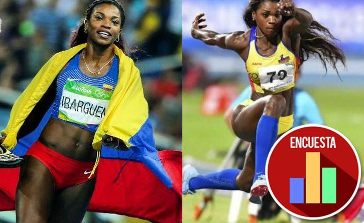 Con dos nuevas medallas de oro Caterine Ibargüen celebra, pero se toma tiempo para enviar un mensaje a Iván Duque