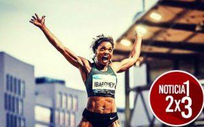 Caterine Ibarguen lo hace por quinta vez y se consolida como 'La reina del salto triple'