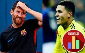 Messi hace el gol 6.000 del Barcelona al estilo Juan Fernando Quintero