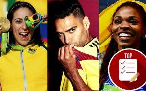 8 deportistas que han dejado la bandera e himno de…