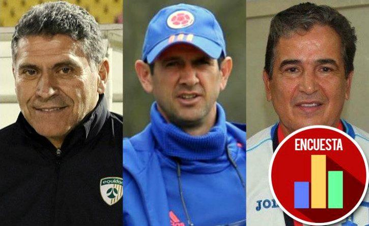 Si el técnico de la Selección fuera colombiano, ¿cuál es la mejor opción?