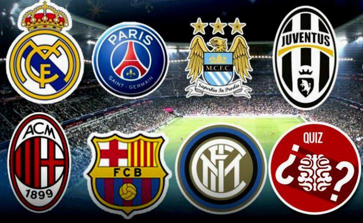 Este test te pondrá a prueba, reconoce estos escudos de equipos de fútbol