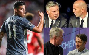 ¿Quién ha sido el mejor entrenador en Europa para James…