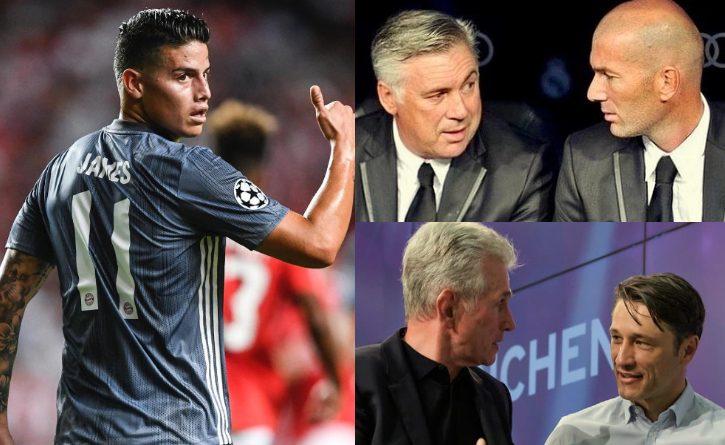 ¿Quién ha sido el mejor entrenador en Europa para James Rodríguez?