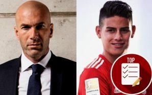 Zidane no se olvida de James, esto dicen desde Europa