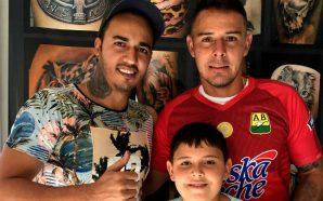 Luis Delgado se tatuó uno de los más conmovedores regalos…