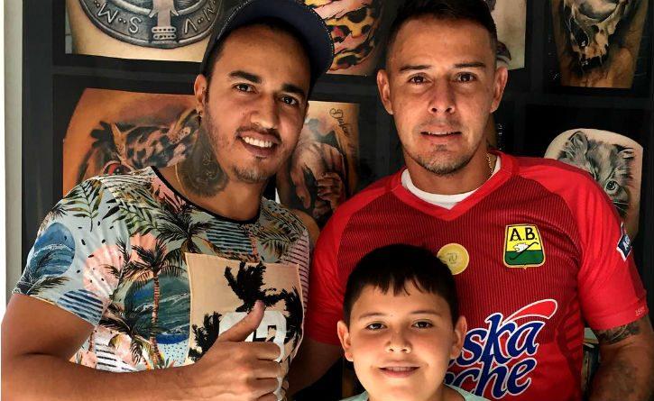 Luis Delgado se tatuó uno de los más conmovedores regalos que le han dado