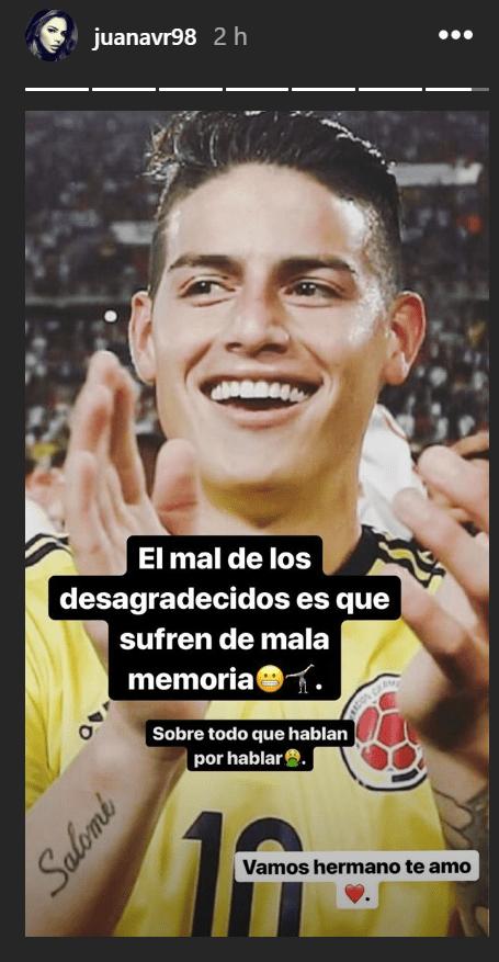 La hermana de James Rodríguez le responde a Lothar Matthäus