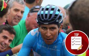 Nairo Quintana en el 'top' 5 de los ciclistas que…