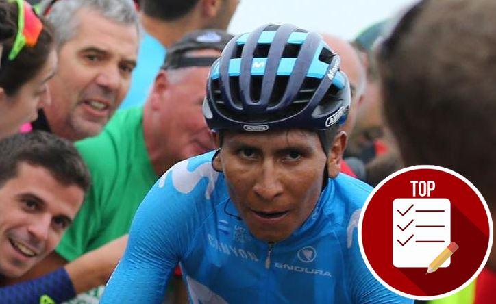 Nairo Quintana en el 'top' 5 de los ciclistas que más dinero ganan en el mundo