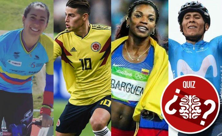 Si fueras un deportista colombiano, ¿cuál serías? ¡Descúbrelo con este test!