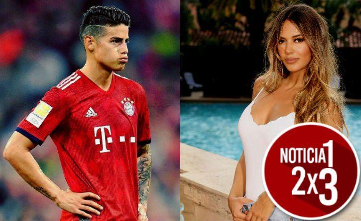 James Rodríguez y Shannon de Lima, la prueba que confirmaría la nueva relación del futbolista