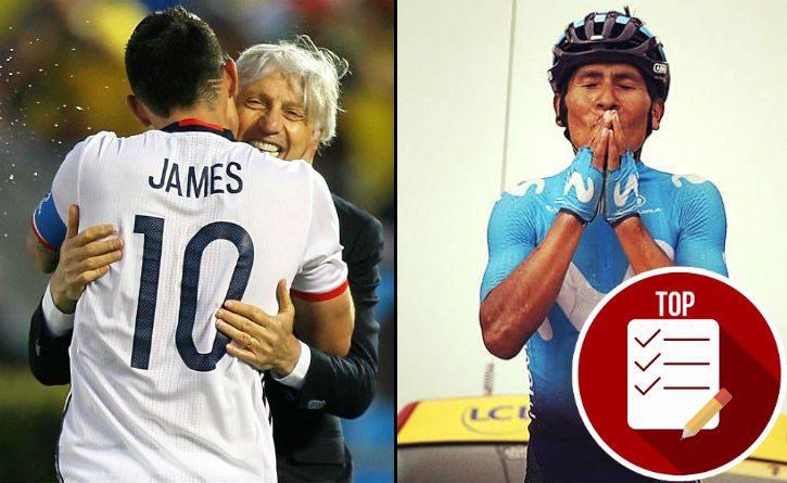 Momentos de prestigio internacional del deporte colombiano en el 2018