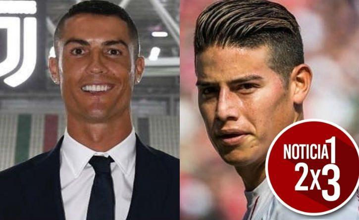 Cristiano Ronaldo no cree que sea un buen momento para que James llegue a la Juventus ¡Un comentario que dejó a todos con la boca abierta!