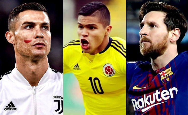 Juan 'El cucho' Hernández supera el rendimiento de Messi y Cristiano
